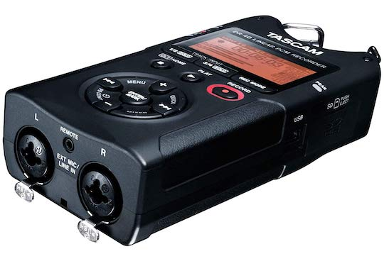 tascam lateral